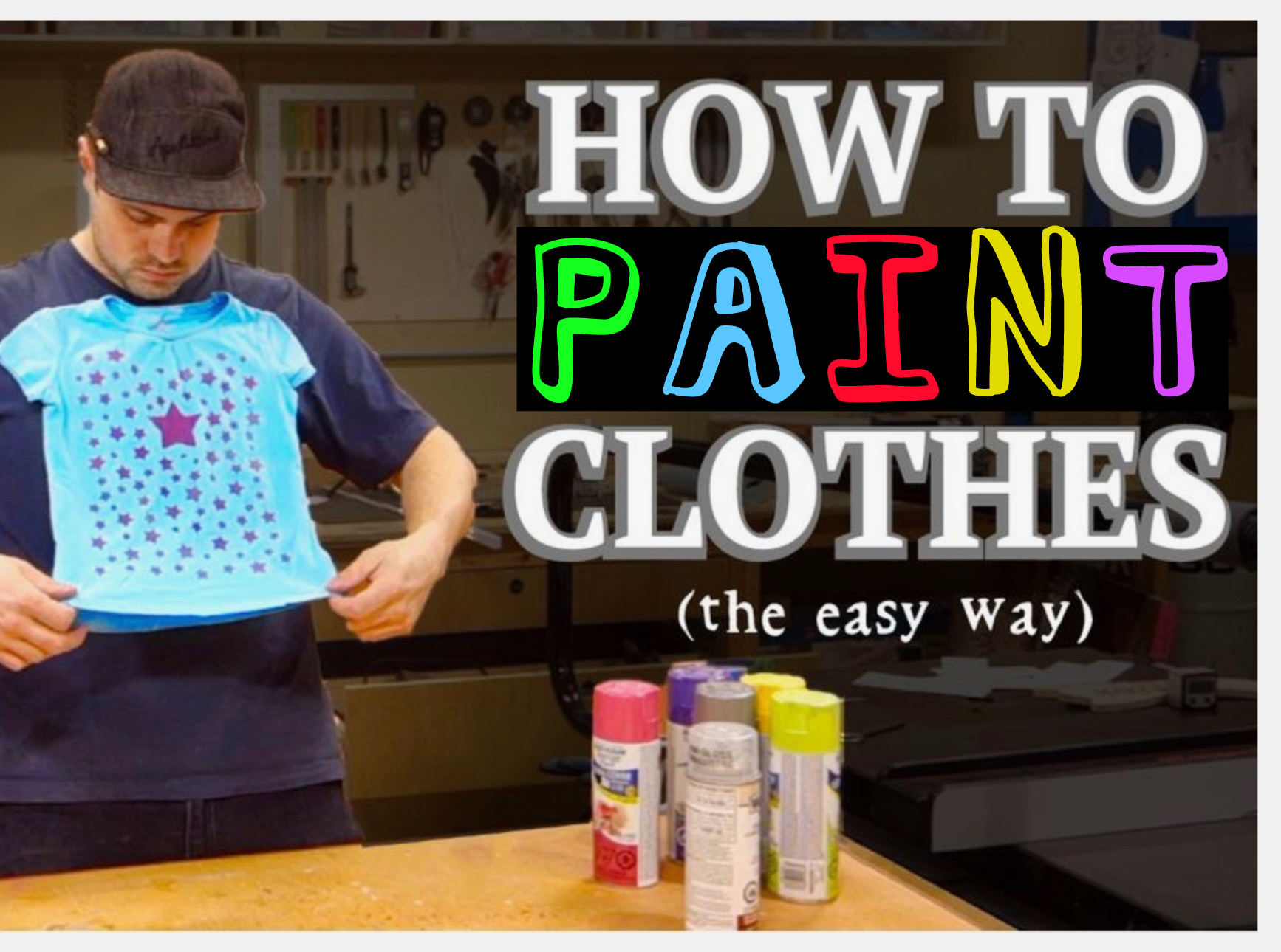 Picture of How to Paint Clothes