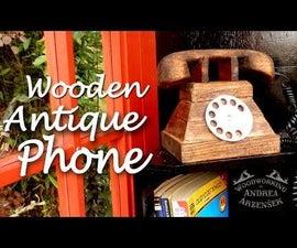 Wooden Phone (sculpture)