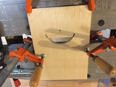 Cut a Half Circle Handle (optional)