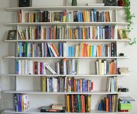 Stylish and easy to make bookshelf