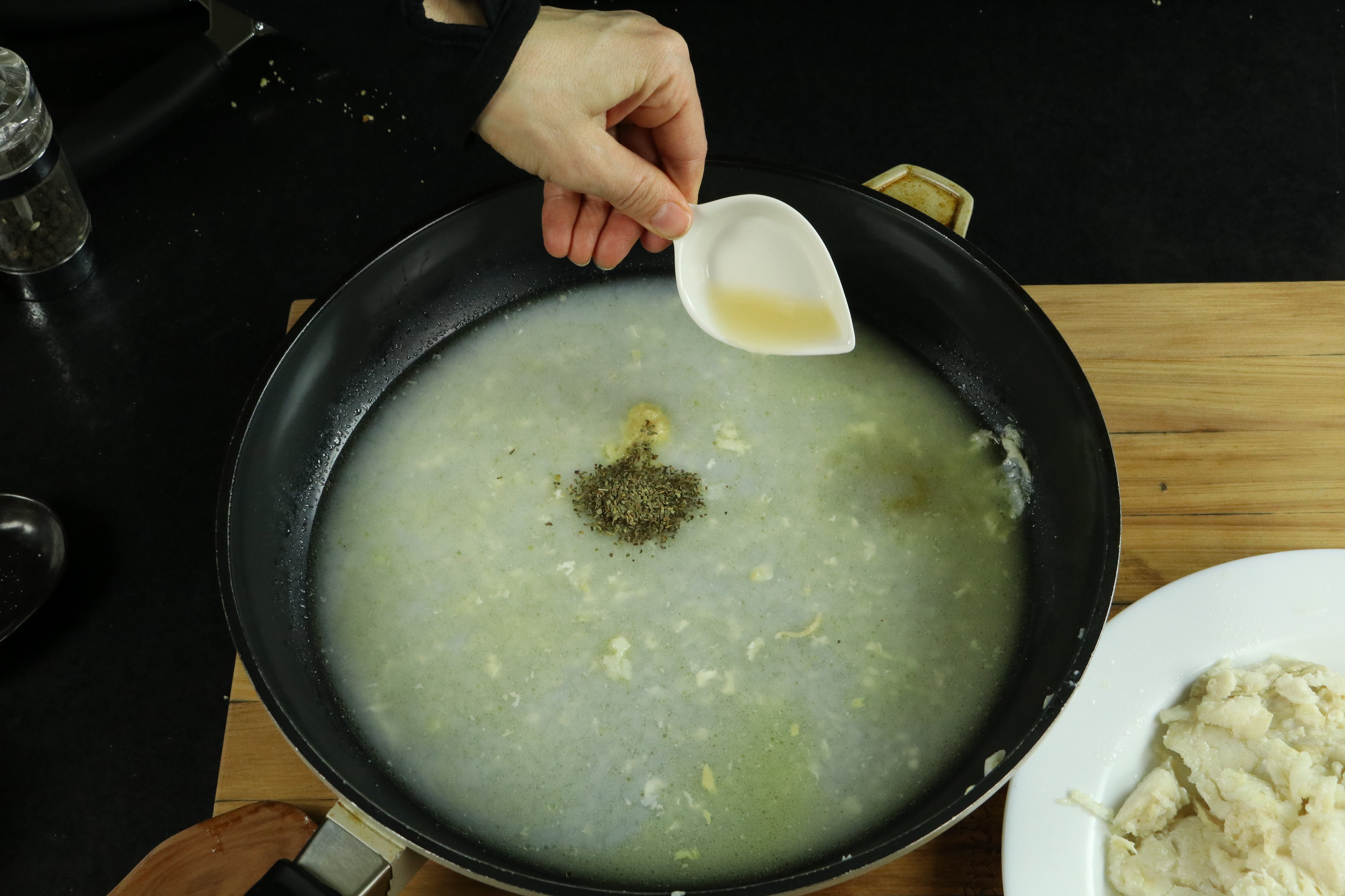Picture of Flavoring the Fish Juice