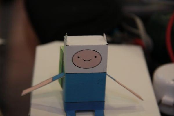 Papercraft Finn (Adventure Time)