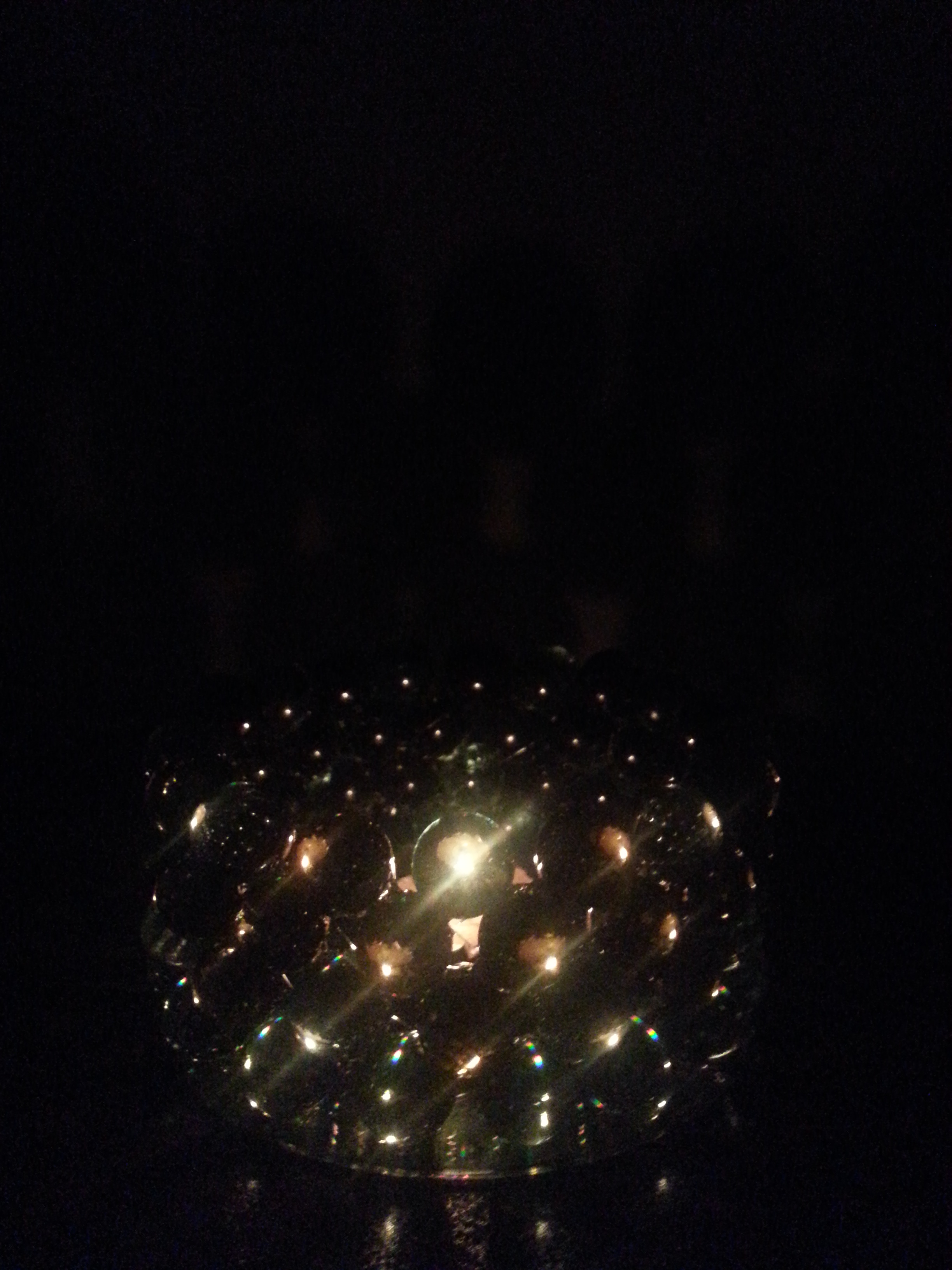 Picture of Handmade Marbles CD Chandelier