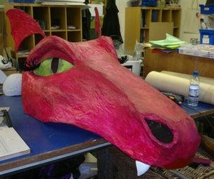 Dragon Head Puppet for Shrek the Musical