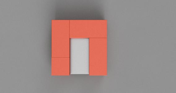 Arrange 3 Bricks and One Half Brick on Top of Metal Mesh As Below
