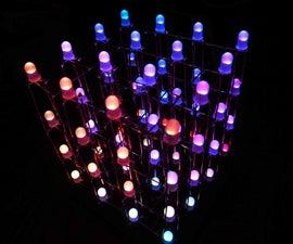 4x4x4 RGB LED Cube