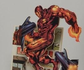 Comic Book Pop-Out Art