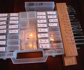 Tap & Die Tool Storage