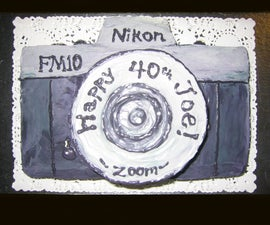 SLR Camera Cake