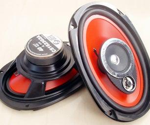 Car Audio Speakers Upgrade