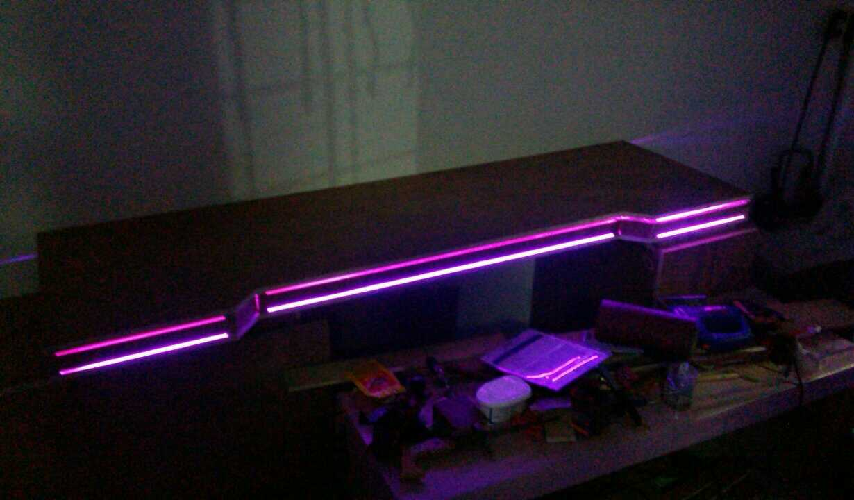 Picture of (Optional) Acrylic RGB LED Lights
