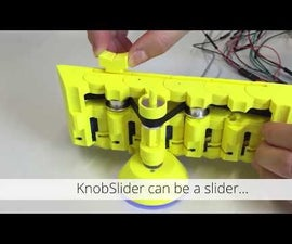 KnobSlider: a Shape-Changing Interface to Combine a Knob and a Slider