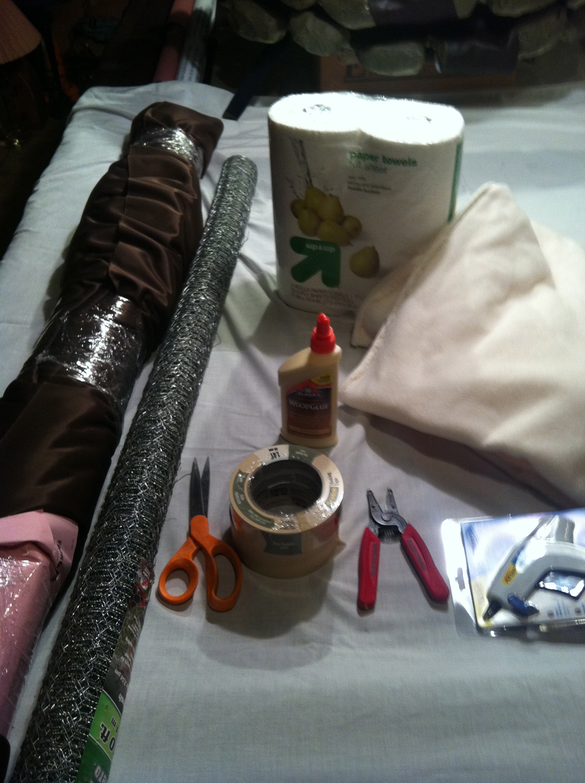 Picture of Materials and Molding the Head