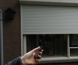 Remote Controlled Rolling Shutter