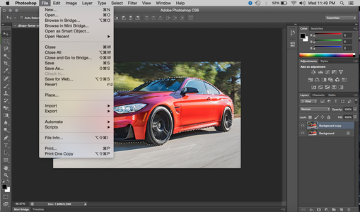 How to Remove a Background on PhotoShop