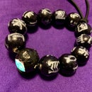 Black Panther Kimoyo Bead Bracelet With Light Up Prime Bead
