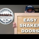 How to Make Shaker Style Doors