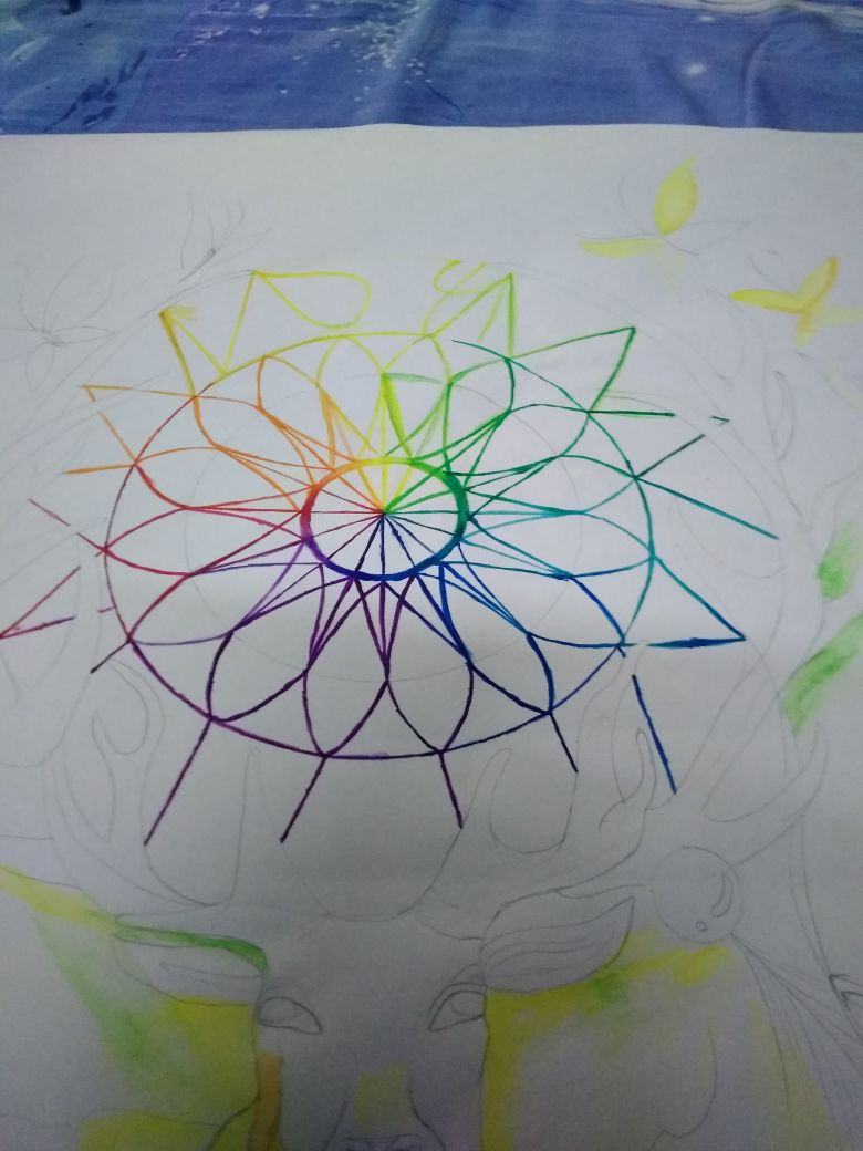 Picture of Coloring the Wheel
