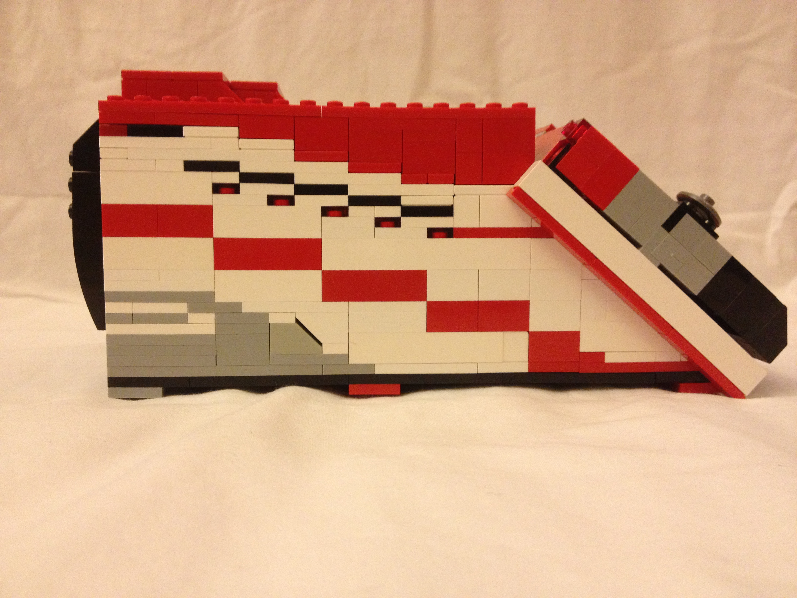 Picture of Starspeeder 1000 Made of Lego