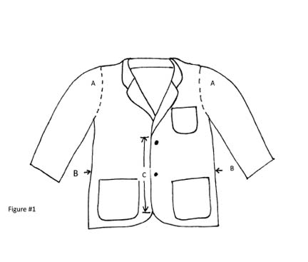 Picture of Step One: Repurposed Jacket, Dress Shirt, and Tie Into Apron.