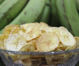 Quick & easy Banana Chips