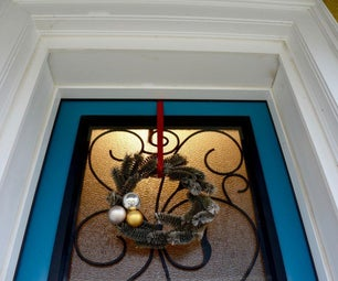 It's a Holiday Wreath With Tube Brushes From Habitat for Humanity ReStore