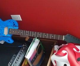 3D Printed Custom Guitar
