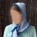 Easy Crochet Hooded Scarf