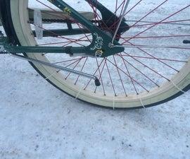 Zip tie bike Traction Chain