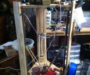 DELTA TWISTER: a DIY 3D PRINTER ANYONE CAN MAKE (FOR LESS THEN 400 BUCKS)