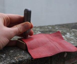 DIY Leather Piercing Tool