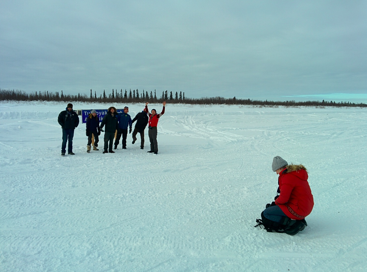 Picture of   ARRIVE AT ICE ROAD!