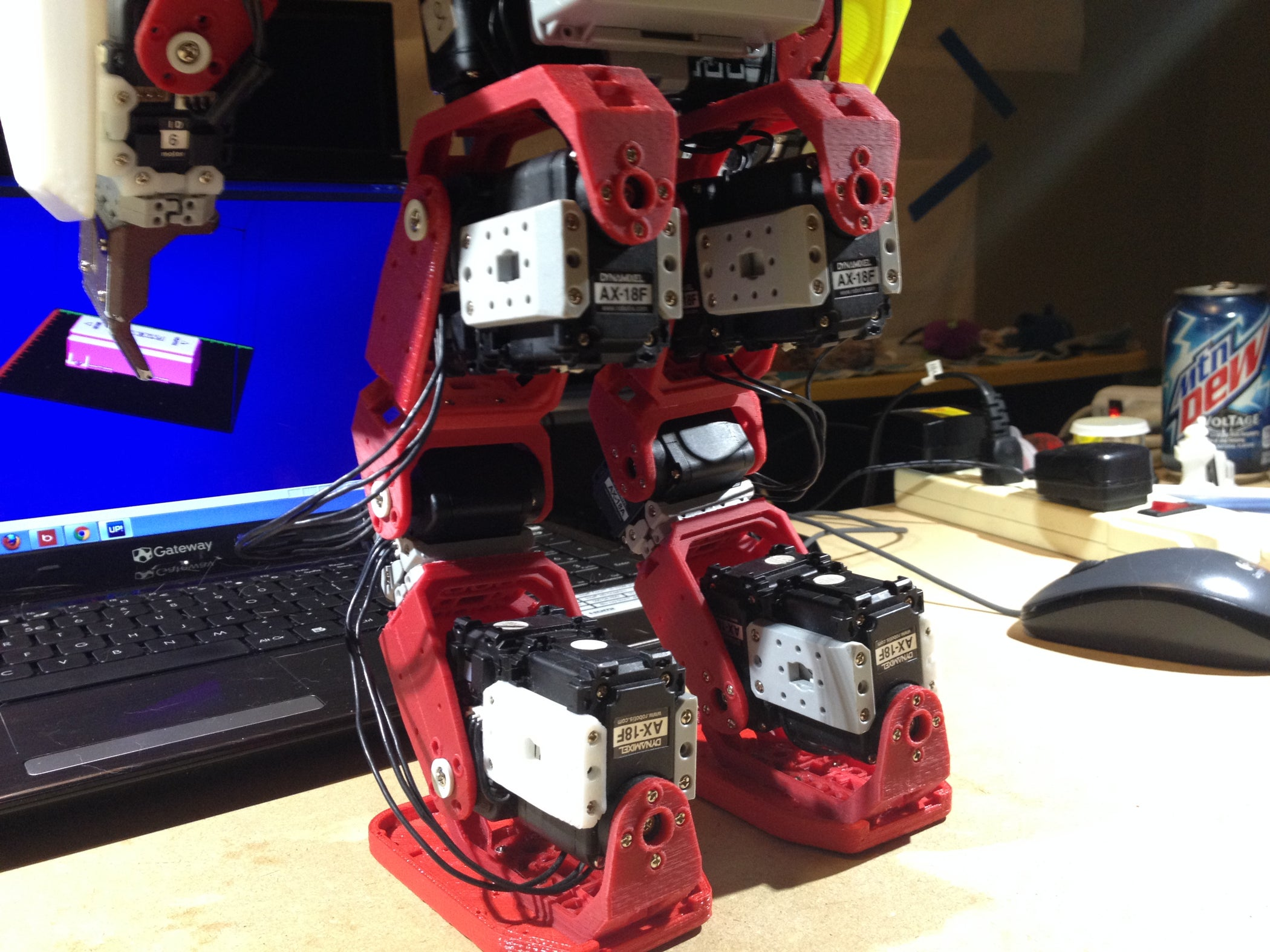 3D Printed Humanoid Robot for Under 1000.00 USD