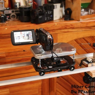 "THE INTERNET'S CHEAPEST MOTORIZED, BELT DRIVEN, 48"" DIY CAMERA SLIDER"