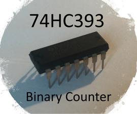 74HC393 Binary Counter