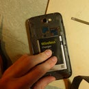 Galaxy Note 2 (Verizon / I605) Wireless Charging Mod