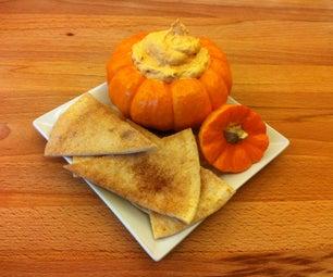 Pumpkin Dip With Cinnamon Sugar Chips