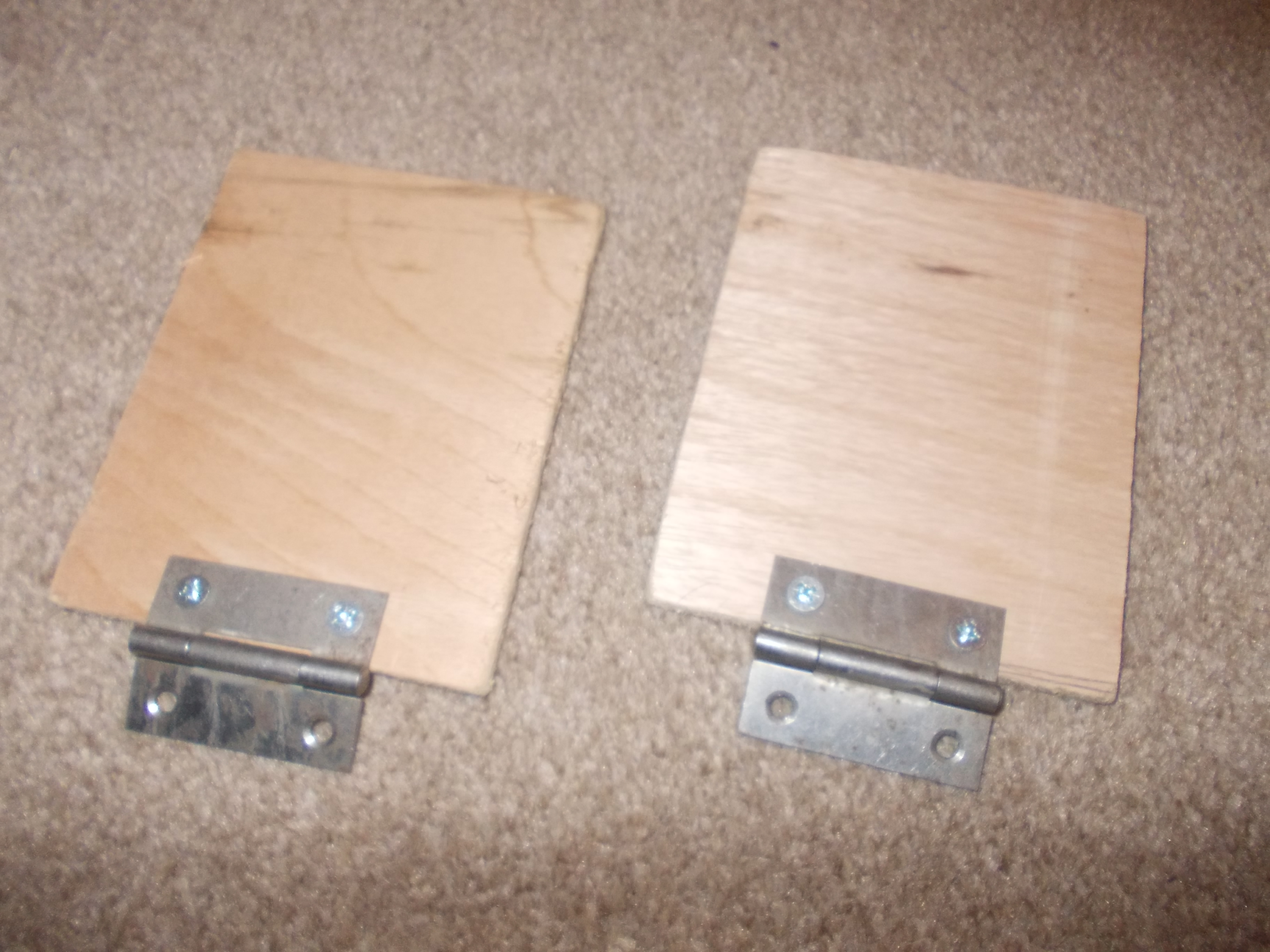 Picture of Cutting Pedals and Mounting Hinges