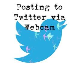 Tweeting Photos from Webcam