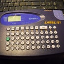 (15) Cassio Label Maker, Battery Operated To Solar Pluggable