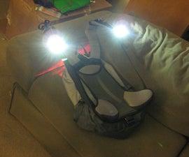 Power LED Backpack Lighting system