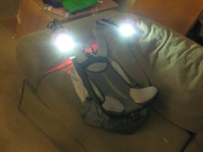 Power LED Backpack Lighting System