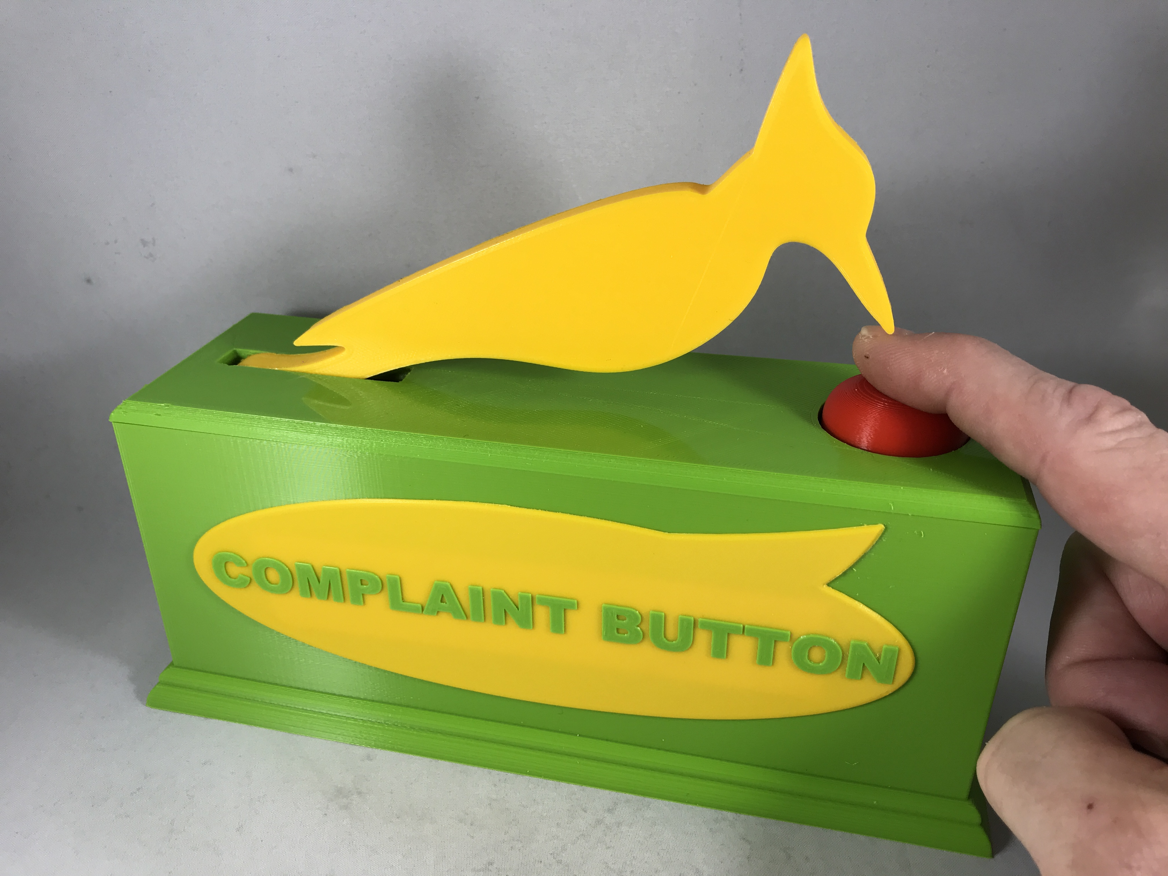 Picture of Complaint Button.