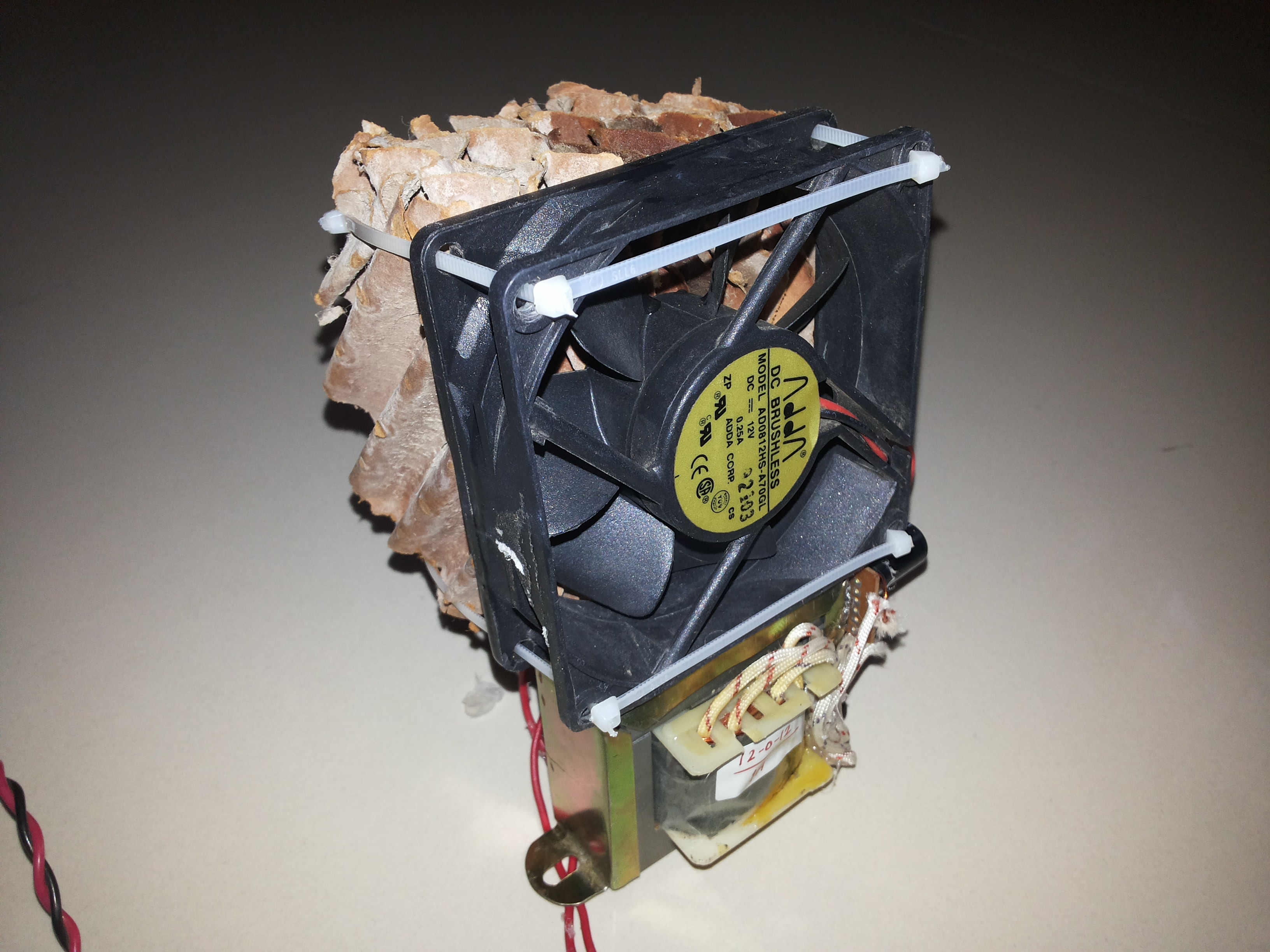 Picture of Mini Air Conditioner (A/C) From Reused Materials
