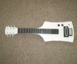 How to Make an electric lapsteel for a high school physics class