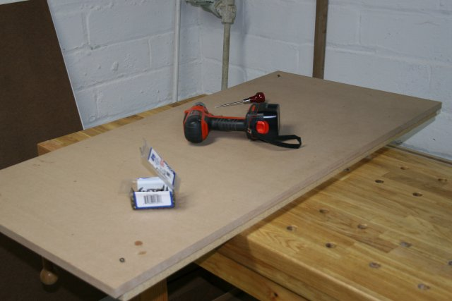 Picture of Laminating the Top