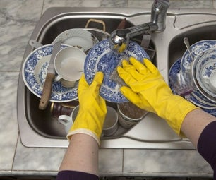 How to Wash Dishes by Hand