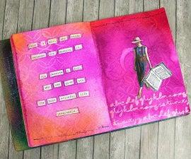 Girls Who Read Art Journal Project
