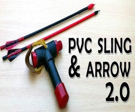 PVC Slingshot bow V 2.0 with shooting demo (Video)