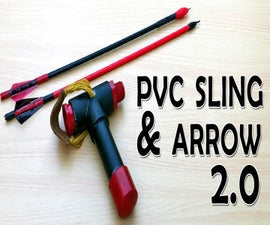 PVC Slingshot Bow V 2.0 With Shooting Demo (Video)